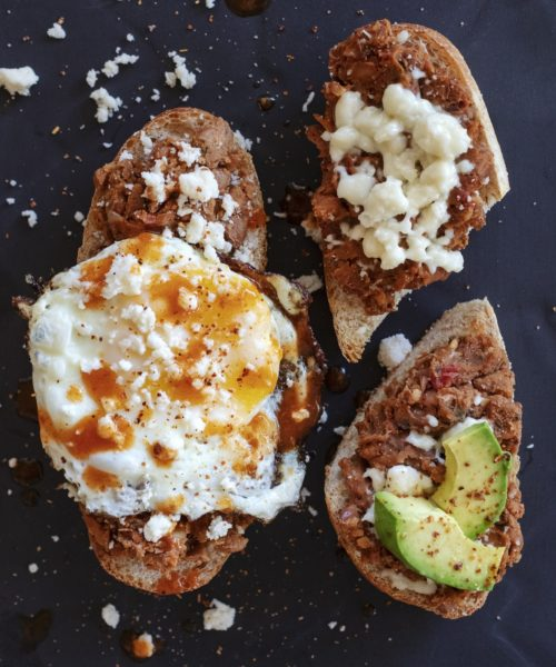 molletes recipe photo by Jackie Alpers
